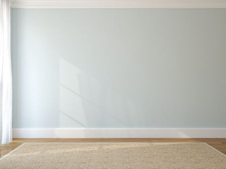 Photo pour Interior of empty room. 3d render. - image libre de droit