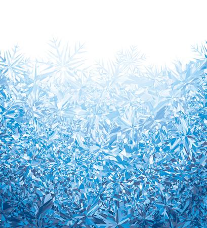 Illustration for Blue winter background.  - Royalty Free Image