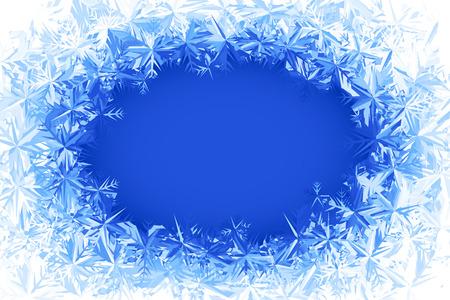 Illustration pour Blue frosted window. Eps8. RGB. Global colors. Gradients used. - image libre de droit