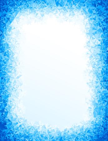 Illustration pour Vector blue ice background. Eps8. RGB Global colors - image libre de droit