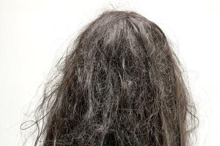 Foto de damaged hair - Imagen libre de derechos