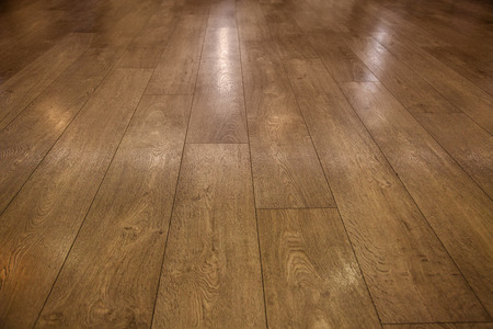 Photo for wooden floor, wooden parquet - Royalty Free Image