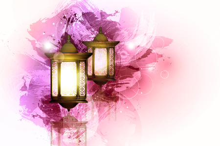 Illustration for Vector Illustration Ramadan Kareem Lantern. - Royalty Free Image