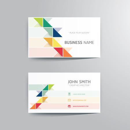Illustration pour Vector modern creative business card template. - image libre de droit
