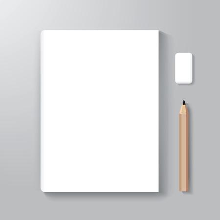 Illustration pour Book Cover Design Style Template / can be used for E-Book Cover/ E-Magazine Cover/ vector illustration - image libre de droit