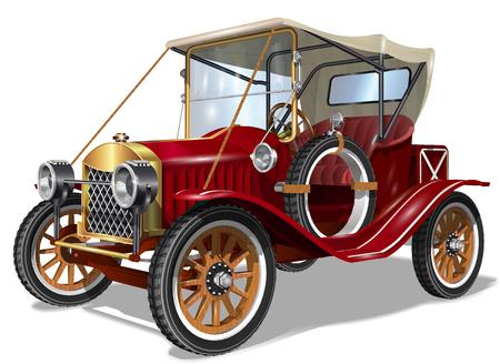 Ilustración de Vintage Car - Imagen libre de derechos