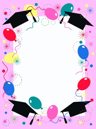 graduation invitation or celebration card