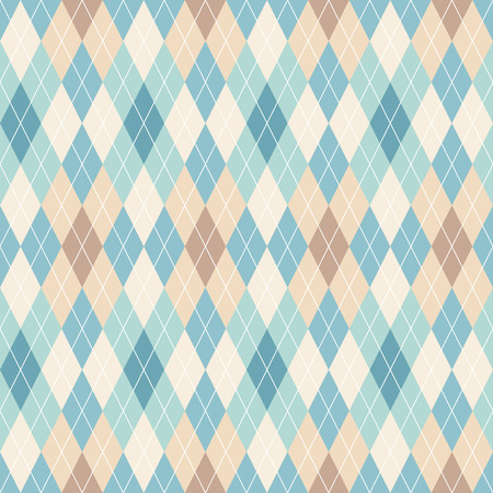 Photo pour Argyle seamless pattern. Retro background - image libre de droit