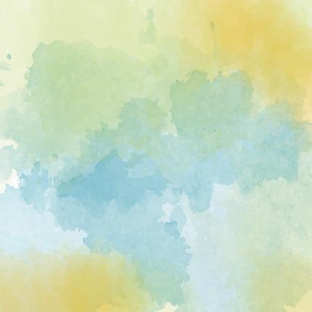 Illustration pour Watercolor background, vector format - image libre de droit