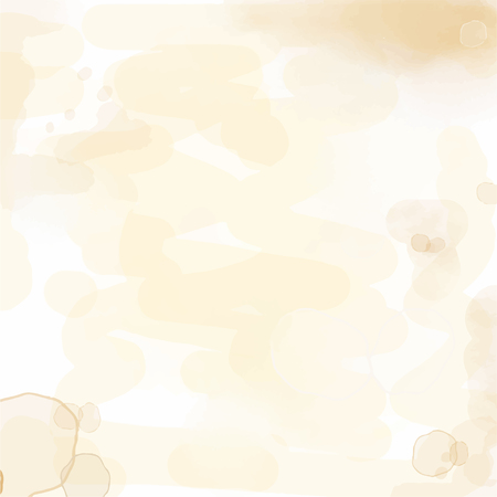 Ilustración de delicate watercolor background with water stains, vector format - Imagen libre de derechos