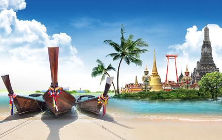 Foto de Thailand travel concept - Imagen libre de derechos