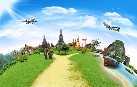Foto de Travel concept, thailand - Imagen libre de derechos