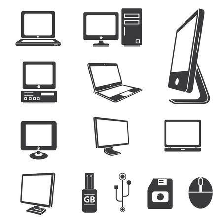 Illustration pour computer icons, electronics icons - image libre de droit