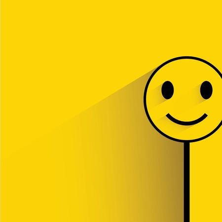 Illustration pour smile emoticon - image libre de droit