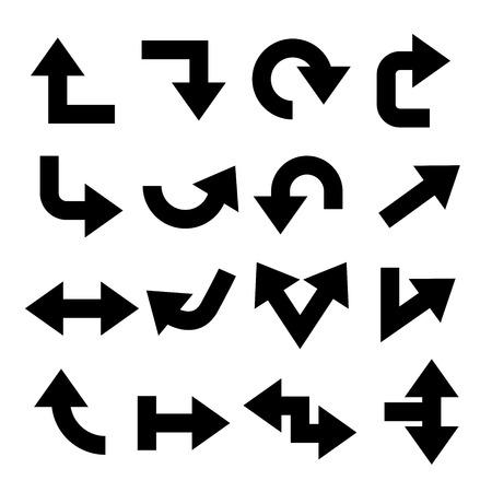 Ilustración de vector arrows - Imagen libre de derechos