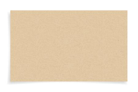 Ilustración de Brown paper texture on white background. Vector illustration. - Imagen libre de derechos