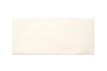 Photo pour Love letter isolated on white background with area for text. Wedding card. - image libre de droit
