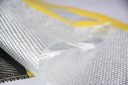 Photo pour White carbon fiber composite raw material background - image libre de droit