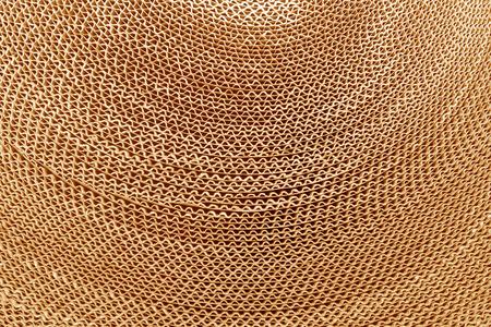 Foto de Corrugated cardboard abstract background - Imagen libre de derechos