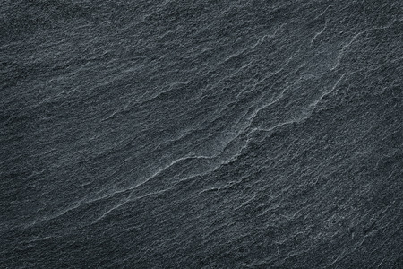 Foto de black slate stone background or texture - Imagen libre de derechos