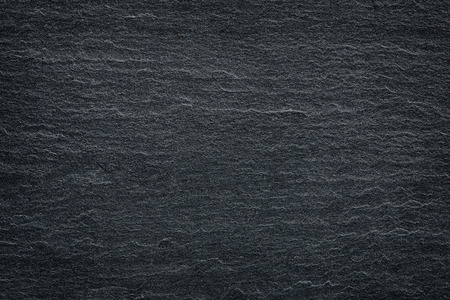 Foto de Dark grey black slate background or texture. - Imagen libre de derechos