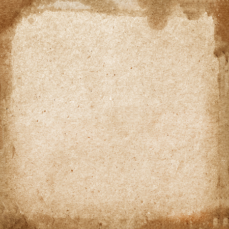 Foto de sheet of old paper isolated on black background - Imagen libre de derechos