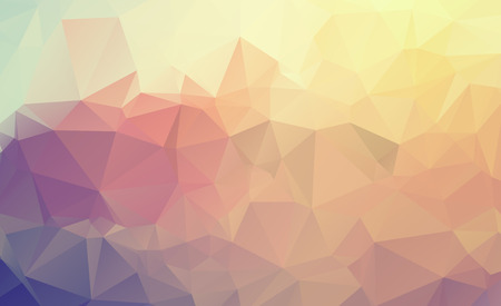 Ilustración de Abstract multicolor background. Vector polygonal design illustration graphic - Imagen libre de derechos