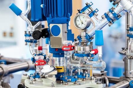 Foto de Basic Glass Reactor system for Pilot Plants - Imagen libre de derechos