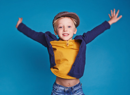 Photo for Little excited boy - Royalty Free Image