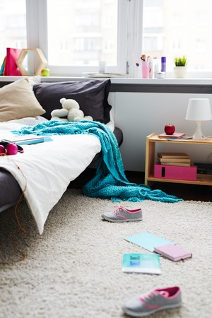 Photo for Messy room of the teenager - Royalty Free Image