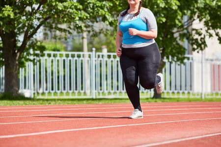 Photo pour Run on race track - image libre de droit