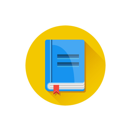 Illustration for Vector Book Icon - Royalty Free Image