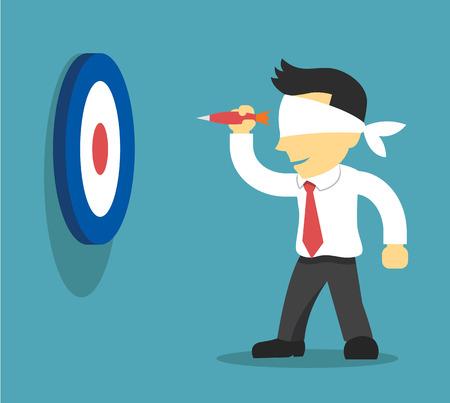 Illustration pour Business strategy. Vector flat illustration - image libre de droit