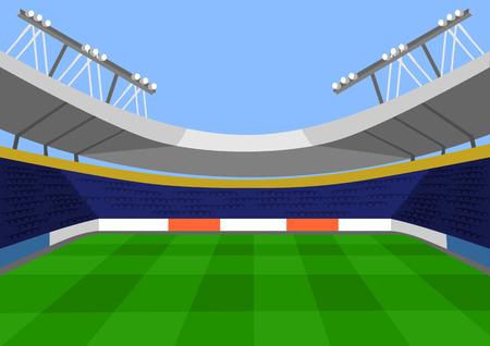 Illustration pour Vector football flat illustration - image libre de droit