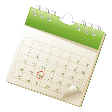 Illustration pour Calendar. - image libre de droit
