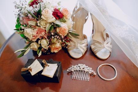 Photo pour wedding accessories hd - image libre de droit
