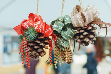 Photo pour christmas tree decor in venice italy - image libre de droit