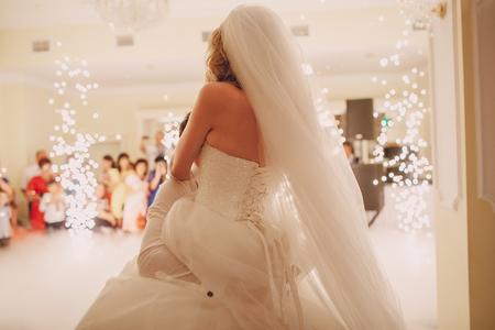 Foto de wedding first dance - Imagen libre de derechos