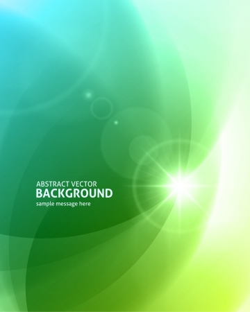 Ilustración de Lens flare light abstract background  - Imagen libre de derechos