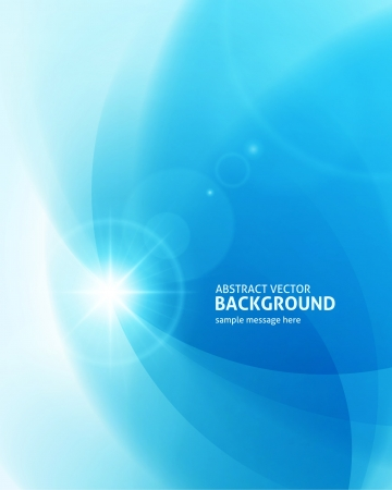 Photo for Lens flare light abstract background  - Royalty Free Image