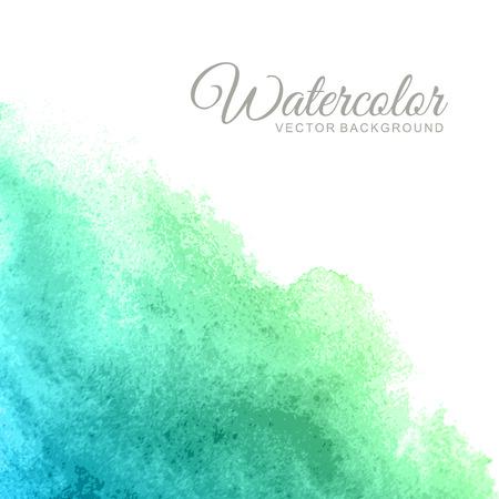Ilustración de Abstract watercolor vector background - Imagen libre de derechos