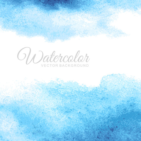 Illustration pour Abstract watercolor background  - image libre de droit