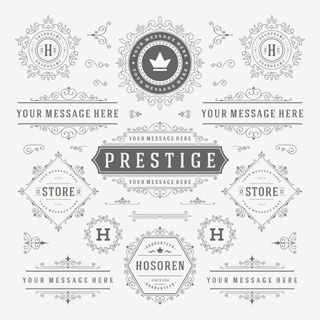 Illustration pour Flat line Digital Marketing Concept Vector illustration. Modern thin linear stroke vector icons. - image libre de droit