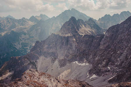 Photo for Mountain landscape in Tatras - Royalty Free Image