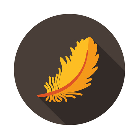 Feather icon. Farm animal sign. Graph symbol for your web site design, logo, app, UI. Vector illustration