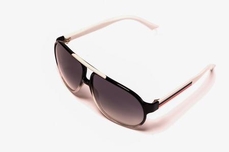 Photo pour fashion eye glasses isolated on white backgrounds - image libre de droit