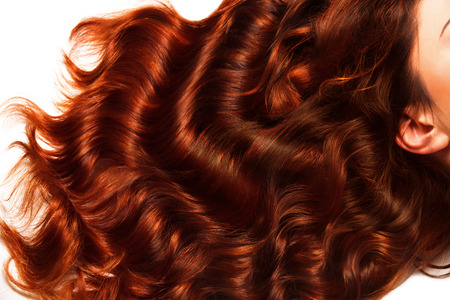 Photo for Brown Curly Hair Texture. High quality image. - Royalty Free Image