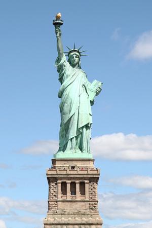 Foto de Statue of liberty in New York ,USA . - Imagen libre de derechos
