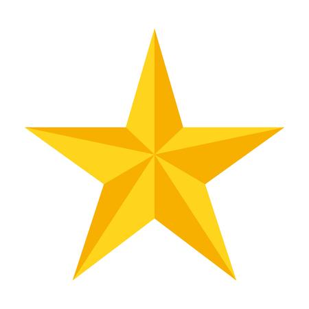Ilustración de Star vector icon , symbol - Imagen libre de derechos