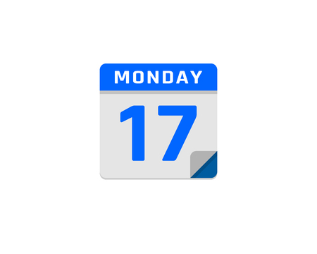 Illustration pour Calendar file icon design. - image libre de droit